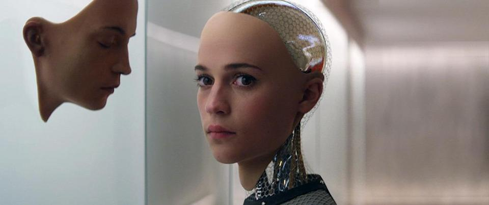 """<p>Co-star Alicia Vikander (Best Supporting Actress) earned a Golden Globe nomination for Best Supporting Actress, but other than that, Alex Garland's slick sci-fi sleeper didn't appear to have much of a pulse in the awards race. Then, it made a surprise appearance on <a href=""""https://www.yahoo.com/movies/producers-guild-nominates-ex-machina-sicario-straight-outta-183715745.html"""" data-ylk=""""slk:the Producers Guild shortlist;outcm:mb_qualified_link;_E:mb_qualified_link;ct:story;"""" class=""""link rapid-noclick-resp yahoo-link"""">the Producers Guild shortlist</a> for Best Picture. Could the Oscars follow suit? It would be a highly intelligent and inspired pick.</p>"""