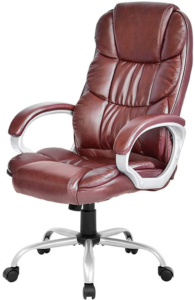 """<h2>FDW Computer High Back Adjustable Ergonomic Desk Chair</h2><br>This FDW seat looks much more expensive than its under-$100 price tag. Score one for yourself and sink into its extra cushy padding while reclining up to 120-degrees after a long day.<br><br><strong>The Hype</strong>: 4.4 out of 5 stars and 2,845 ratings<br><br><strong>WFH Pros say</strong>: """"Great chair, much better quality than expected. Having to work from home, I needed a chair that was comfortable and I could sit in for hours. This chair is great for the price and looks very nice.""""<br><br><em>Shop <a href=""""https://amzn.to/37mRXGO"""" rel=""""nofollow noopener"""" target=""""_blank"""" data-ylk=""""slk:FDW"""" class=""""link rapid-noclick-resp"""">FDW</a></em><br><br><strong>FDW</strong> Computer High Back Adjustable Ergonomic Desk Chair, $, available at <a href=""""https://amzn.to/3lwttmI"""" rel=""""nofollow noopener"""" target=""""_blank"""" data-ylk=""""slk:Amazon"""" class=""""link rapid-noclick-resp"""">Amazon</a>"""