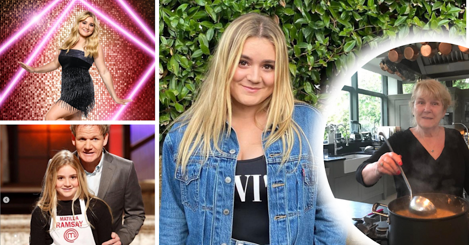 Tilly Ramsay is the daughter of celeb chef Gordon Ramsay, her cooking is also influenced by her nan. After 'Celebrity Masterchef', she is appearing on UK dance competition 'Strictly Come Dancing'. Photo: Instagram/@tillyramsay
