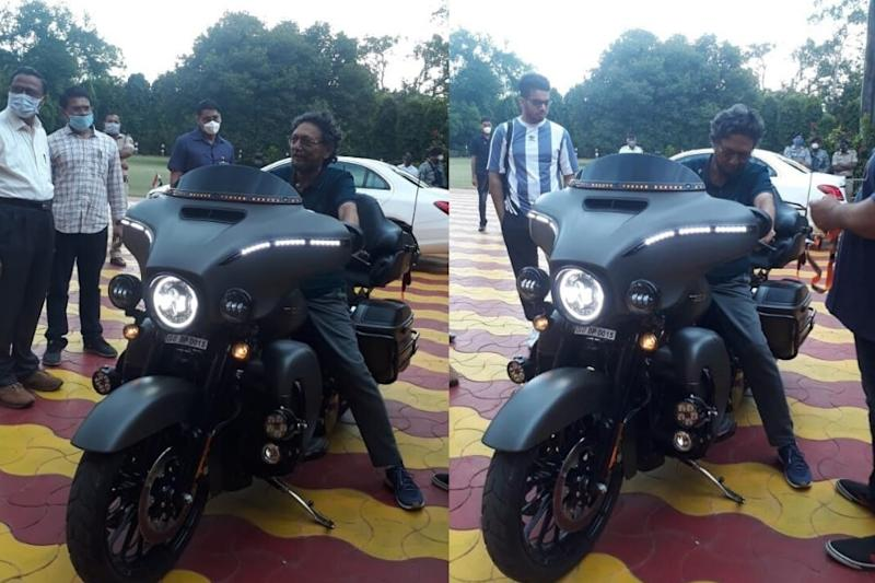 How Cool, My Lord: CJI Justice Bobde on a Harley Davidson Has Set Indians' Hearts Racing