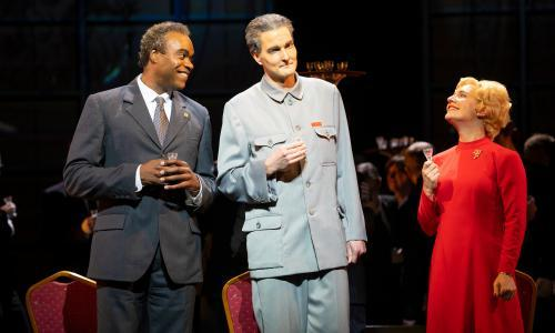 Nixon in China review – slick update for tale of Tricky Dicky's schmoozing