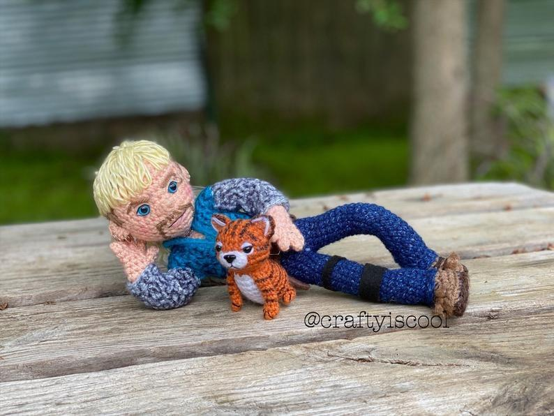 Thomas the Tiger Free Amigurumi Pattern | Jess Huff | 596x794