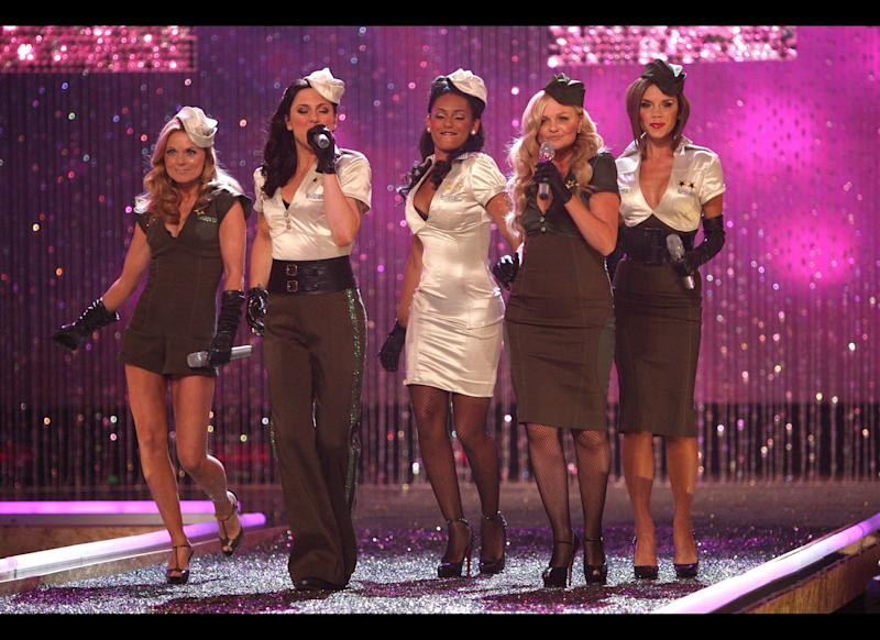 <strong>2007</strong> The Spice Girls perform at the 2007 Victoria's Secret Fashion Show