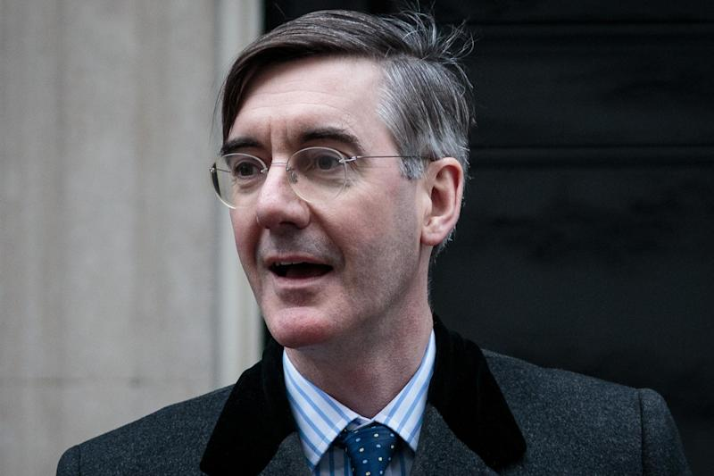 No deal claim: Jacob Rees-Mogg: Getty Images
