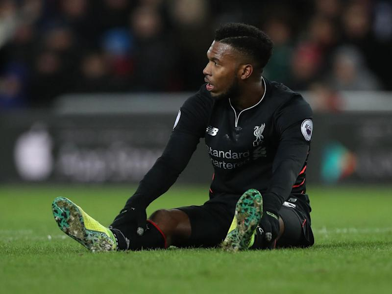 Daniel Sturridge has struggled for form and fitness under manager Jurgen Klopp (Getty)