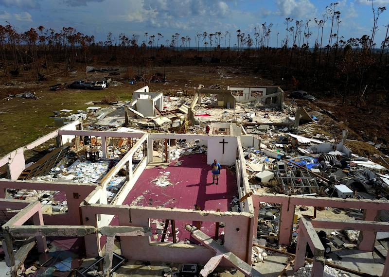 As Bahamians search for missing, Tropical Storm approaches