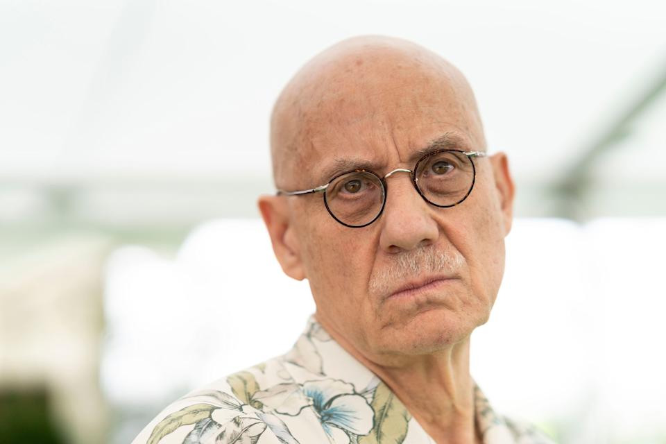 HAY-ON-WYE, WALES - JUNE 1: James Ellroy, American crime writer, during the 2019 Hay Festival on June 1, 2019 in Hay-on-Wye, Wales. (Photo by David Levenson/Getty Images)
