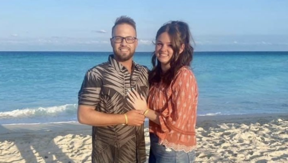 William Hewett and Hailey Cooper were engaged five days before the tragic incident. Source: GoFundMe