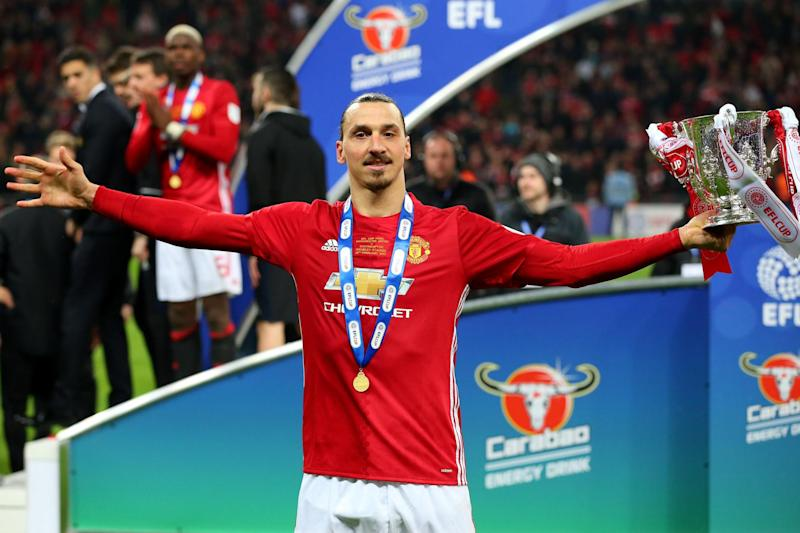 Better with age? | Zlatan Ibrahimovic has scored 28 goals in all competitions this season: Getty Images