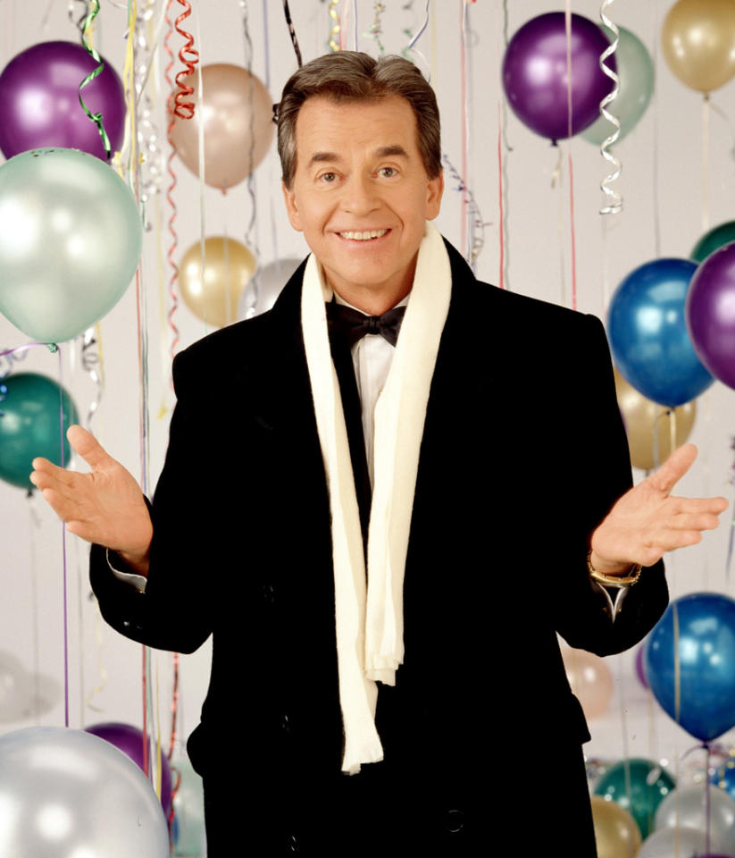 """""""New Year's Rockin' Eve Celebrates Dick Clark"""" (Monday, 12/31 at 8 PM on ABC) Clark, who celebrated the 40th anniversary of his iconic NYE celebration in 2011, died last April, and this two-hour celebration (hosted by Fergie and Jenny McCarthy) remembers his life through clips and interviews with the many artists whose careers he influenced."""