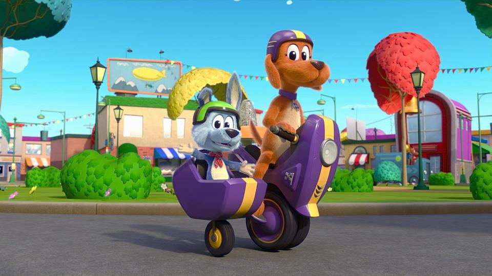 <p>The first season of this brand-new show about pups named Tag and Scooch is streaming now.</p>