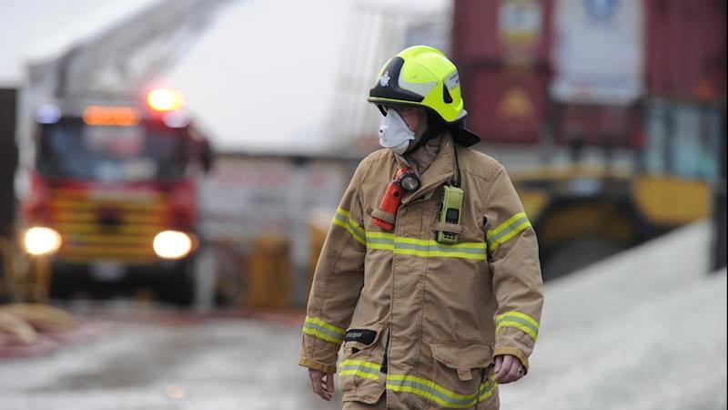 Vic recycling fire still not under control