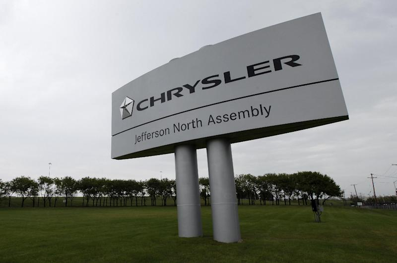 The Chrysler Jefferson North assembly plant is shown in Detroit, Thursday, Sept. 20, 2012. An employee fatally stabbed a co-worker Thursday at the Chrysler factory and then fled to a city park where he killed himself, police said. (AP Photo/Paul Sancya)
