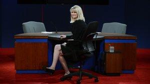 Moderator Martha Raddatz on the Debate: 'You Try to React to What They're Saying'