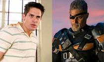 <p>Joe Manganiello appeared at the end of Justice League as Deathstroke, and will likely appear in The Batman too. However, he did make a small appearance as Flash Thompson in the first <em>Spider-Man</em> film. </p>