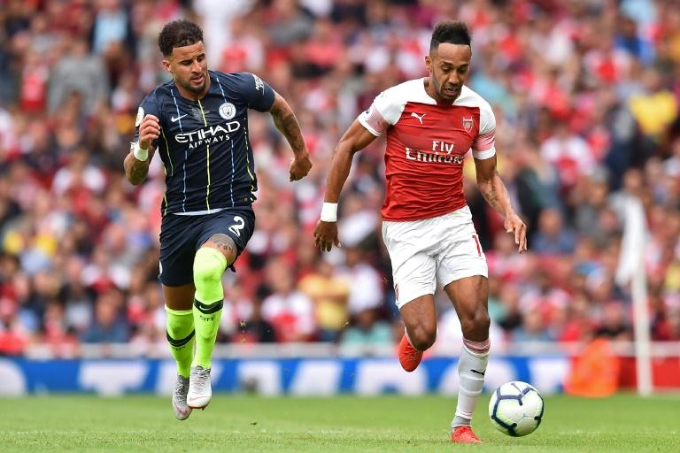 High hopes: Much is expected of Pierre-Emerick Aubameyang in his first full season at Arsenal