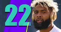 <p>Odell Beckham practiced on Wednesday and Thursday before showing up on Friday's injury report as limited, then was ruled out Saturday with a bruised quad … it just seems a little off. Or maybe it's totally normal and it seems off because it's Beckham, and everything with Beckham becomes a bigger story than it should be. (Odell Beckham Jr.) </p>