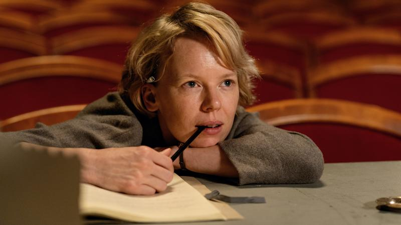 """Alma Pöysti stars as Tove Jansson in """"Tove,"""" a biopic about the Finnish artist's work and love life."""