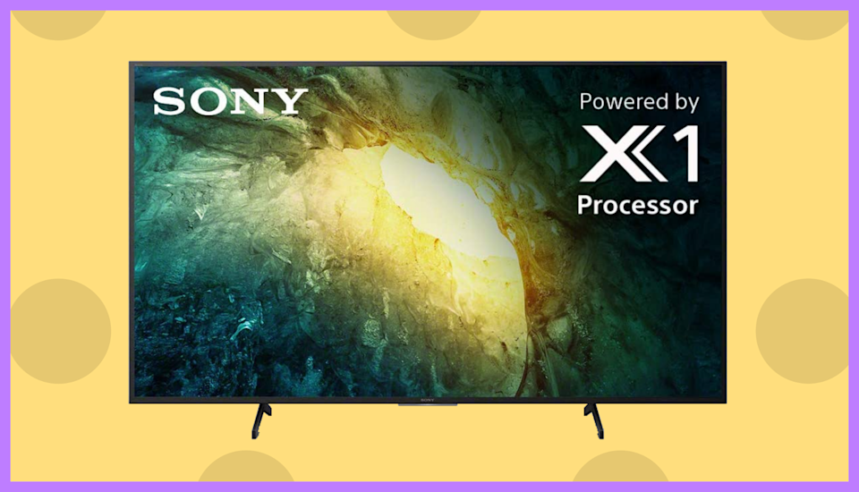 Save big on this Sony 49-inch 4K Ultra HD LED TV. (Photo: Walmart)