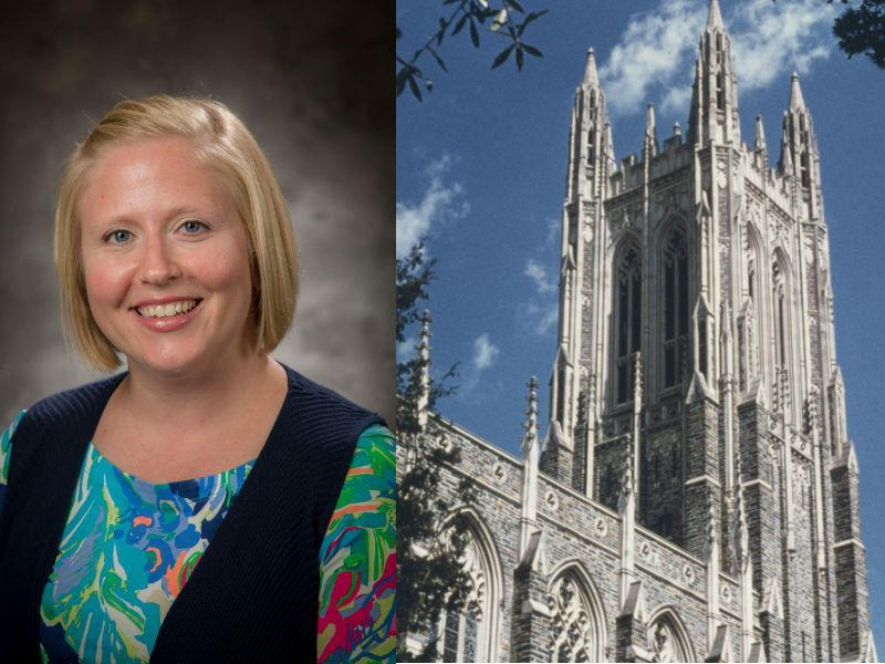 """Megan Neely resigned from an administrative position after sending a """"discriminatory"""" email to Chinese students. (Photo: Duke University/Getty Images)"""
