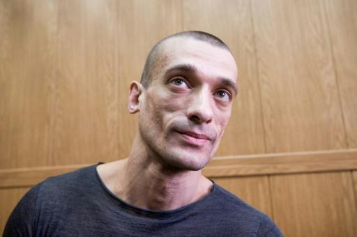 Russian artist Pavlensky gives money to anti-police guerrillas