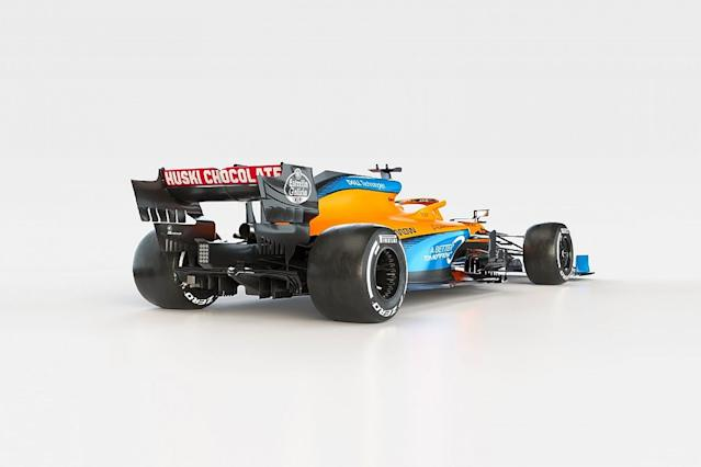 McLaren unveils its MCL35 for 2020