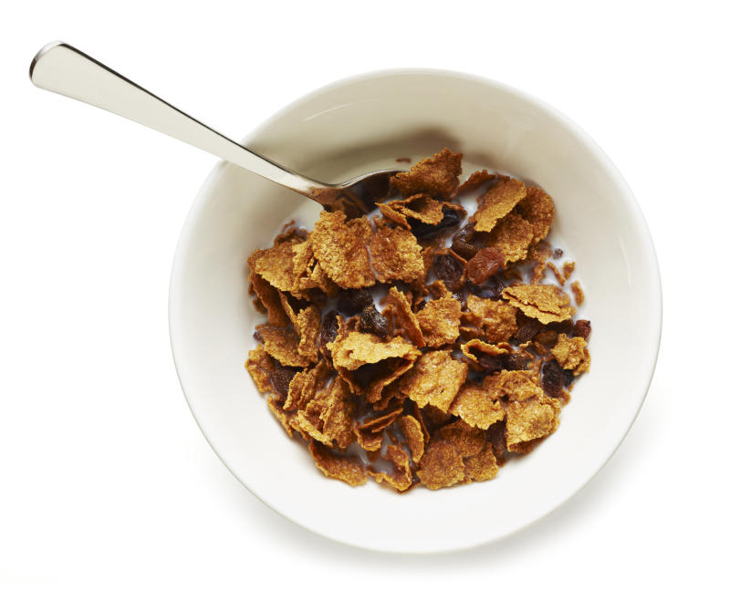Raisin Bran ranks No. 1 on one of our nutritionists' list of the best cereal choices, but not on another's. (jaker5000 via Getty Images)