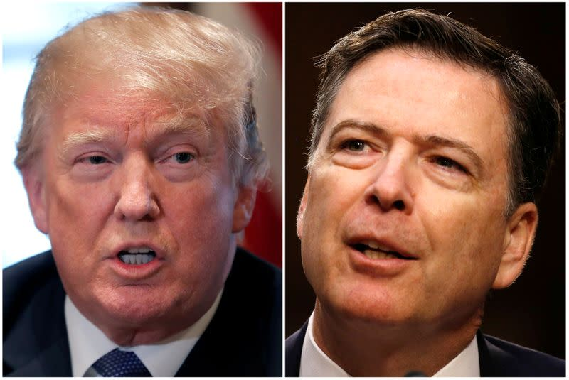 In reversal, TV show about Trump-Comey clash to air before U.S. election