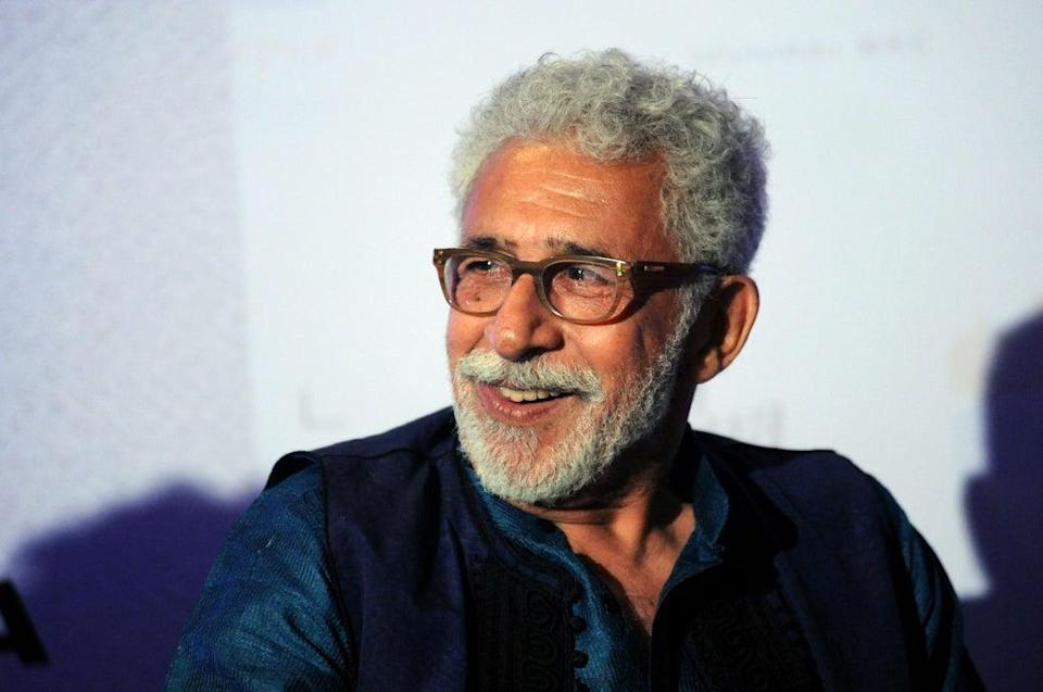 File image: Naseeruddin Shah attends the book launch of 'The Village of Pointless Conversation' in 2016 (AFP via Getty Images)