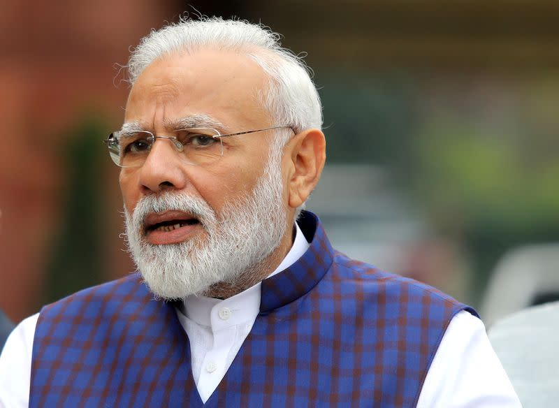 Indian PM Modi shuts Weibo account after banning Chinese apps