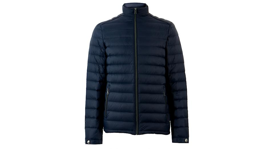 Feather & Down Puffer Jacket with Stormwear