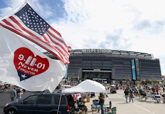 <p>A general view of MetLife Stadium prior to the game between the Cincinnati Bengals and New York Jets on September 11, 2016 in East Rutherford, New Jersey. (Photo by Streeter Lecka/Getty Images) </p>