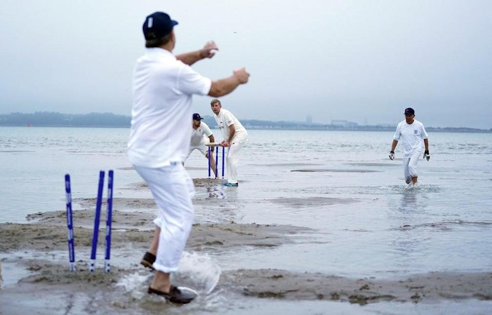A bowler might be tempted to try a flipper (Andrew Matthews/PA) (PA Wire)