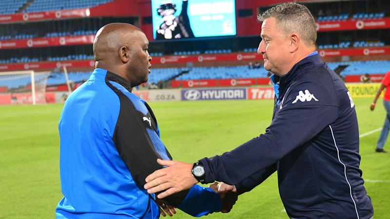 Mosimane weighs in on Hunt to Kaizer Chiefs or Orlando Pirates reports