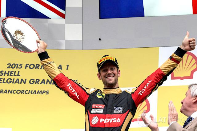 "Romain Grosjean, Lotus F1 Team (10 podios) <span class=""copyright"">Sutton Motorsport Images</span>"
