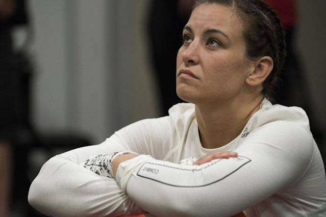 Two-time world champion Miesha Tate is one of the UFC's most popular fighters. (Getty Images)