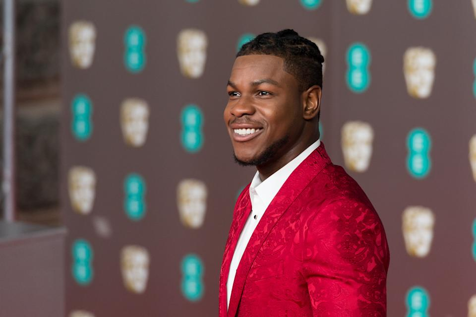 John Boyega attends the EE British Academy Film Awards ceremony on 02 February, 2020. (Photo by WIktor Szymanowicz/NurPhoto via Getty Images)