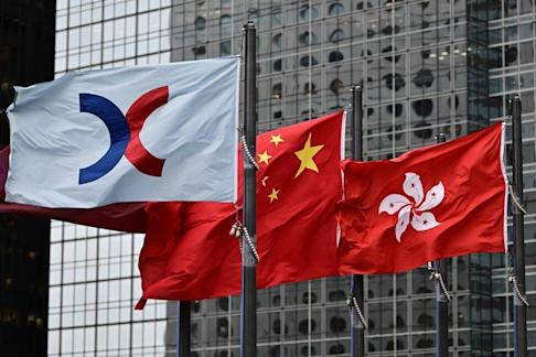 Hong Kong Stock Exchange is likely to see a busy October. Photo: AFP