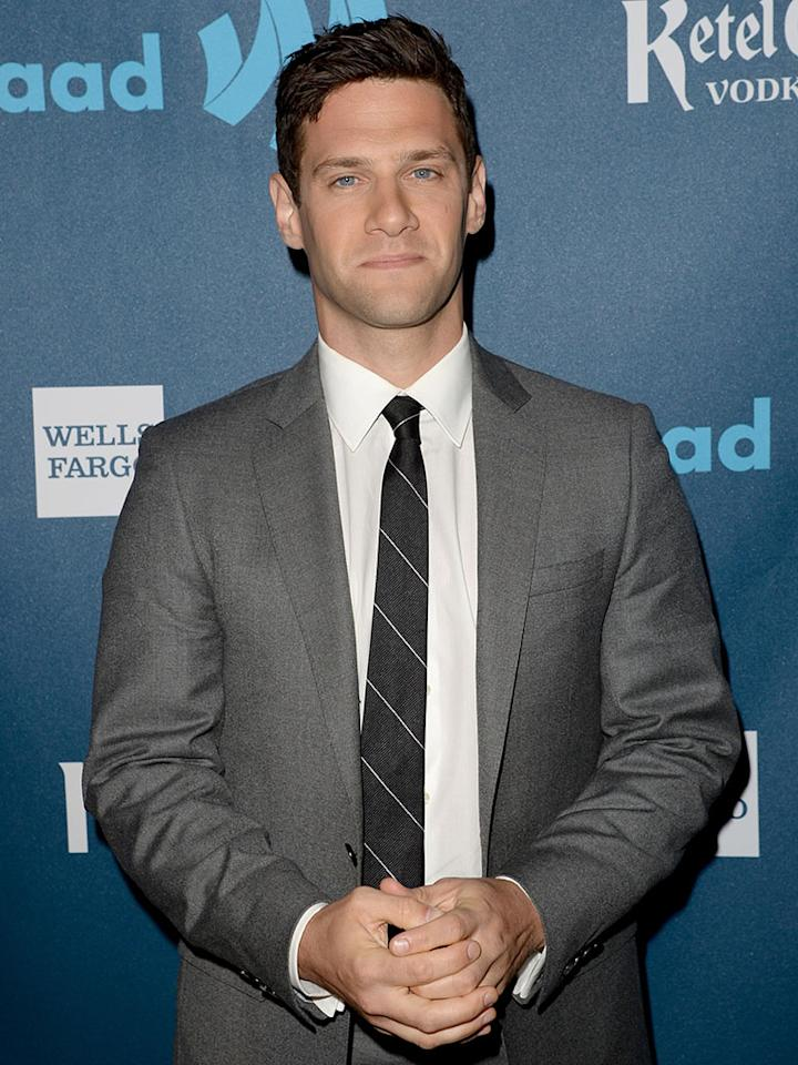 """""""The New Normal"""" star Justin Bartha is a guest of CNN."""