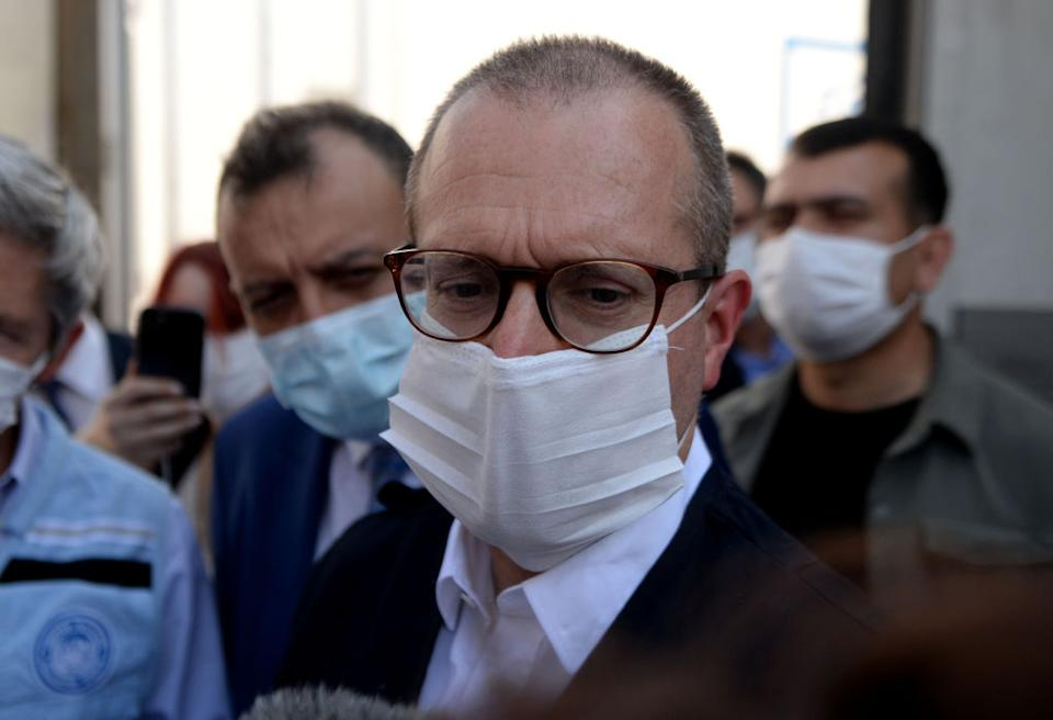 World Health Organisation (WHO) Regional Director for Europe Hans Kluge says the coronavirus situation in Europe is serious. Source: Getty