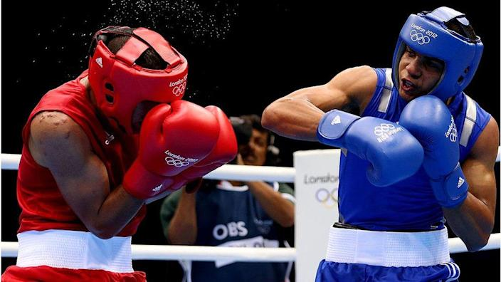Mr Verdejo (right) fought in the 2012 Olympics