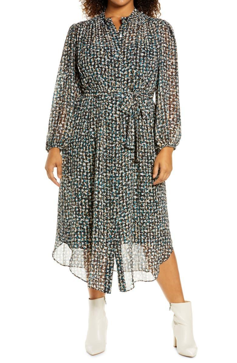 """<h2>Maggy London Abstract Print Longsleeve Shirt Dress</h2><br>This dress can be tailored to your preferred fit. Wear it with the belt or without to switch things up.<br><br><em>Shop <strong><a href=""""https://www.nordstrom.com/s/maggy-london-abstract-print-long-sleeve-shirtdress-plus-size/5926116?origin=category-personalizedsort&breadcrumb=Home%2FBrands%2FMaggy%20London&fashionsize=size%2FWomen%3A%20Apparel%2F24W%2C%203X%7Csize%2FWomen%3A%20Apparel%2F22W%2C%203X%2C%2024%7Csize%2FWomen%3A%20Apparel%2F20W%2C%202X%2C%2022&color=001"""" rel=""""nofollow noopener"""" target=""""_blank"""" data-ylk=""""slk:Nordstrom"""" class=""""link rapid-noclick-resp"""">Nordstrom</a></strong></em><br><br><strong>Maggy London</strong> Abstract Print Long Sleeve Shirtdress, $, available at <a href=""""https://go.skimresources.com/?id=30283X879131&url=https%3A%2F%2Fwww.nordstrom.com%2Fs%2Fmaggy-london-abstract-print-long-sleeve-shirtdress-plus-size%2F5926116%3Forigin%3Dcategory-personalizedsort%26breadcrumb%3DHome%252FBrands%252FMaggy%2520London%26fashionsize%3Dsize%252FWomen%253A%2520Apparel%252F24W%252C%25203X%257Csize%252FWomen%253A%2520Apparel%252F22W%252C%25203X%252C%252024%257Csize%252FWomen%253A%2520Apparel%252F20W%252C%25202X%252C%252022%26color%3D001"""" rel=""""nofollow noopener"""" target=""""_blank"""" data-ylk=""""slk:Nordstrom"""" class=""""link rapid-noclick-resp"""">Nordstrom</a>"""