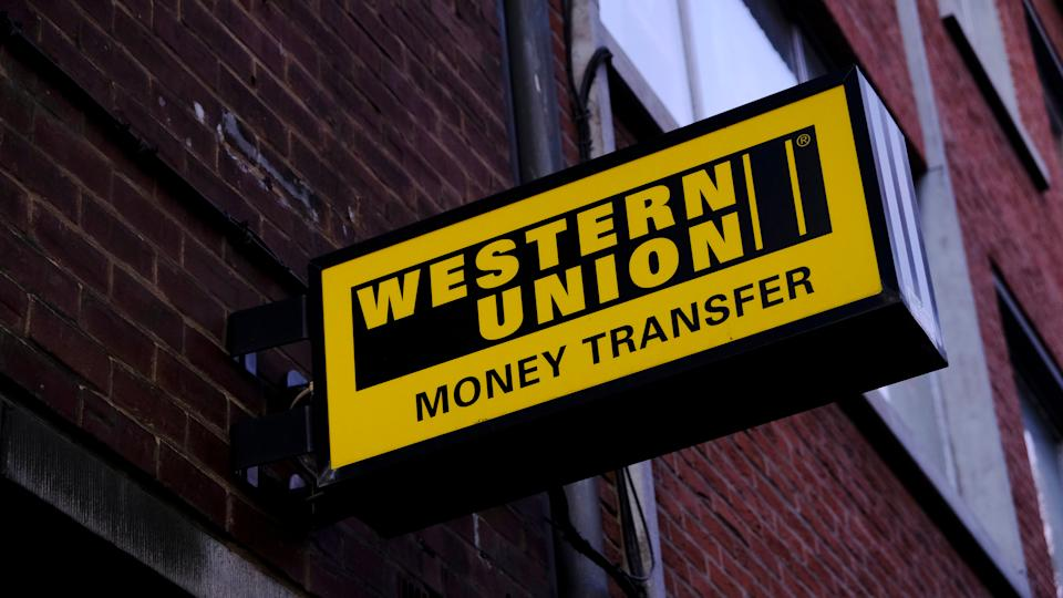A branch of western union financial services in Mons, Belgium on Sep. 16, 2018