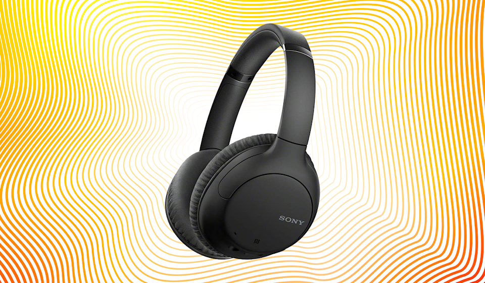 Save 56 percent on these Sony Bluetooth Noise-Cancelation Headphones. (Photo: Amazon)