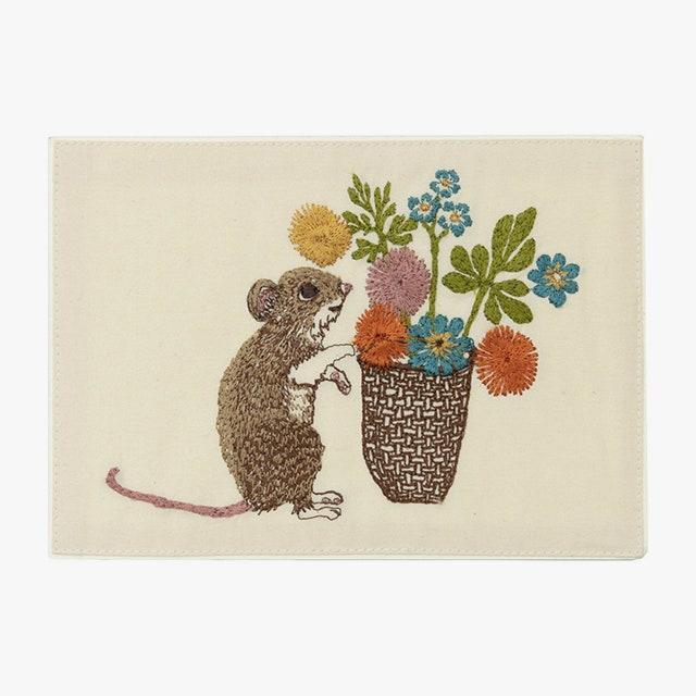 "$22, maisonette.com. <a href=""https://www.maisonette.com/product/mouse-with-flowers-embroidered-card"" rel=""nofollow noopener"" target=""_blank"" data-ylk=""slk:Get it now!"" class=""link rapid-noclick-resp"">Get it now!</a>"