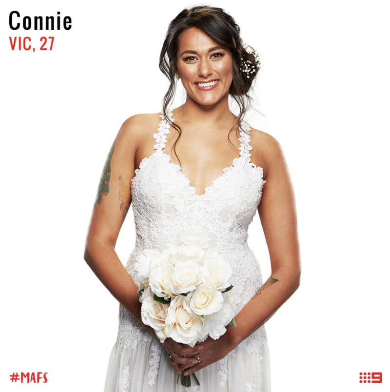 connie crayden Mafs bride