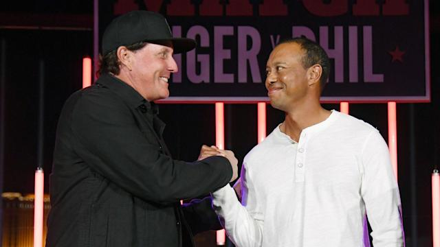 Phil Mickelson's decision to play in Saudi Arabia has been criticised but Tiger Woods feels golf could impact the country positively.