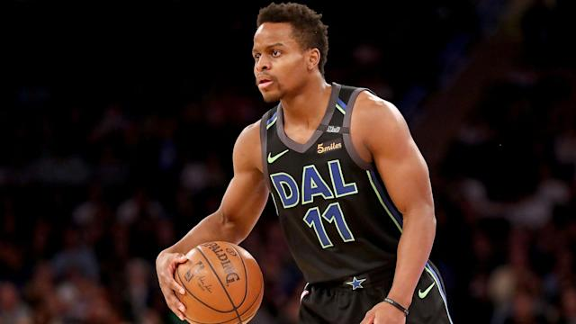"<a class=""link rapid-noclick-resp"" href=""/nba/players/5720/"" data-ylk=""slk:Yogi Ferrell"">Yogi Ferrell</a> appears to have settled on a new team. (AP)"