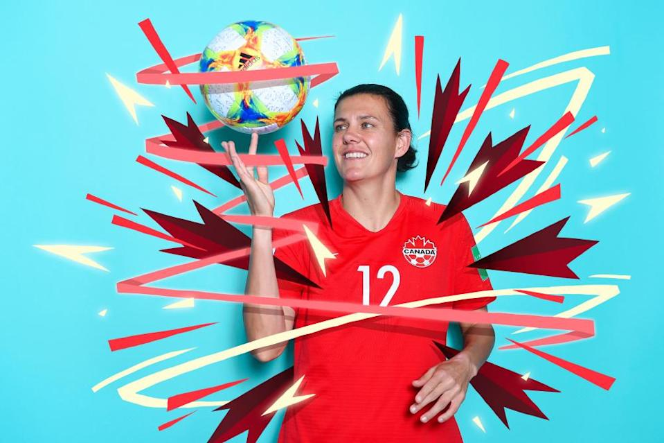 Christine Sinclair has scored for Canada in every calendar year since the turn of the century.