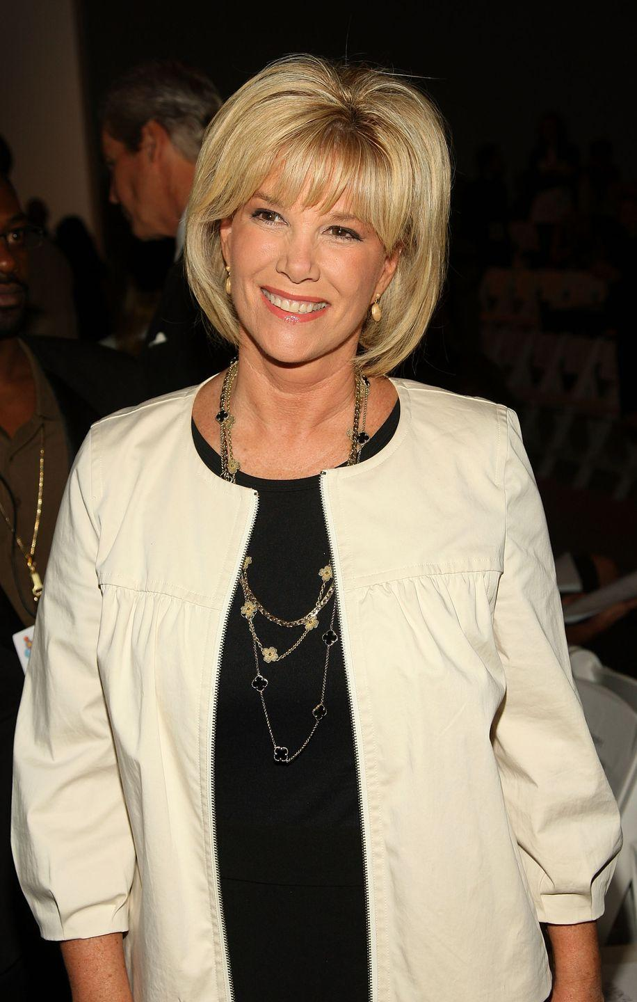 """<p>Journalist, author, and TV host Joan Lunden was diagnosed with cancer in June 2014 and almost immediately became a breast cancer advocate. She famously posed bald for the cover of <em>PEOPLE</em> and told <a href=""""https://www.today.com/health/joan-lunden-breast-cancer-t116904"""" rel=""""nofollow noopener"""" target=""""_blank"""" data-ylk=""""slk:Today"""" class=""""link rapid-noclick-resp""""><em>Today</em></a>:"""" I posed bald for the cover of <em>PEOPLE</em> because I know there are women out there who will actually say no to chemo because they're so worried about losing their hair. That astonishes me because what's the alternative?""""<br></p>"""
